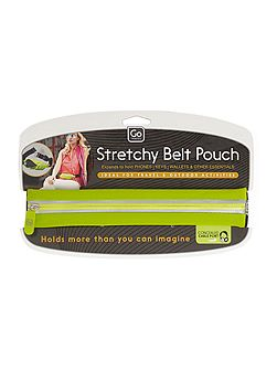 Stretchy belt pouch, assorted colours