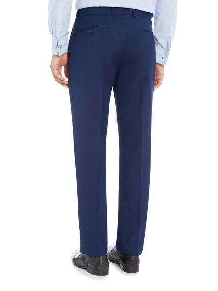 New & Lingwood Wenlock textured suit trouser