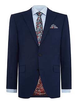 Wenlock textured peak lapel suit jacket