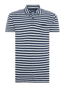 Polo Ralph Lauren Custom fit short sleeve stripe polo