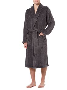 Howick Classic Charcoal Marl Fleece Robe