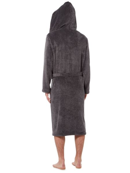 Howick Hooded Charcoal Marl Fleece