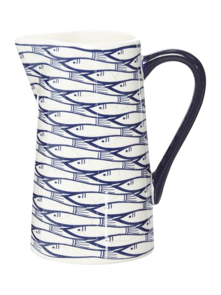Jersey Pottery Sardine Run Small Pitcher
