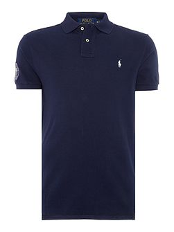 Wimbledon basic mesh custom fit polo
