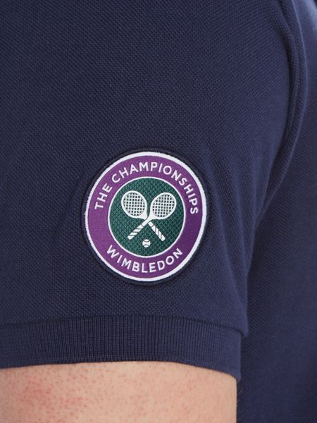 Polo Ralph Lauren Wimbledon basic mesh custom fit polo