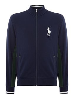 Wimbledon zip thru sweat uniform