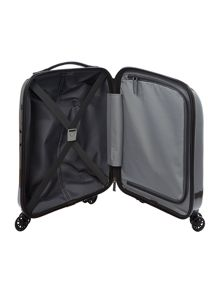 Antler Puck charcoal 4 wheel hard cabin suitcase