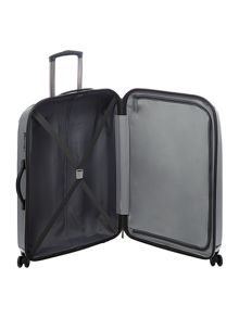 Antler Puck charcoal 4 wheel hard medium suitcase