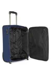 Antler Elba navy 2 wheel soft cabin suitcase