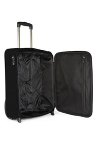 Antler Elba black 2 wheel soft cabin suitcase