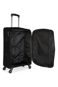 Antler Elba black 4 wheel soft medium suitcase