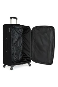 Antler Elba black 4 wheel soft large suitcase
