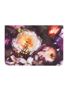 Ted Baker Shadow purple travel laundry bag