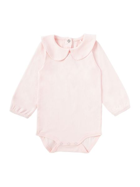 name it Babys Longsleeve Bodysuit with Round Collar
