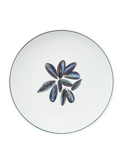 Seaflower Mussel 28cm Dinner Plate