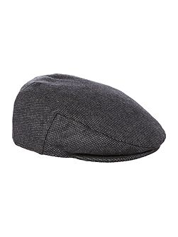 Houndstooth Flat Cap