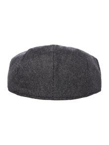 Howick Houndstooth Flat Cap