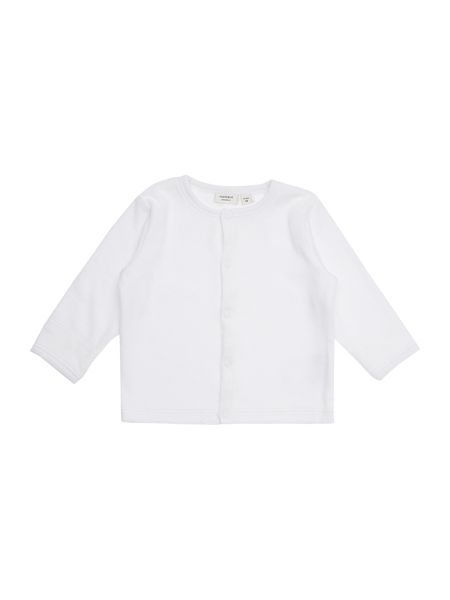 name it Babys Longsleeve Velour Cardigan