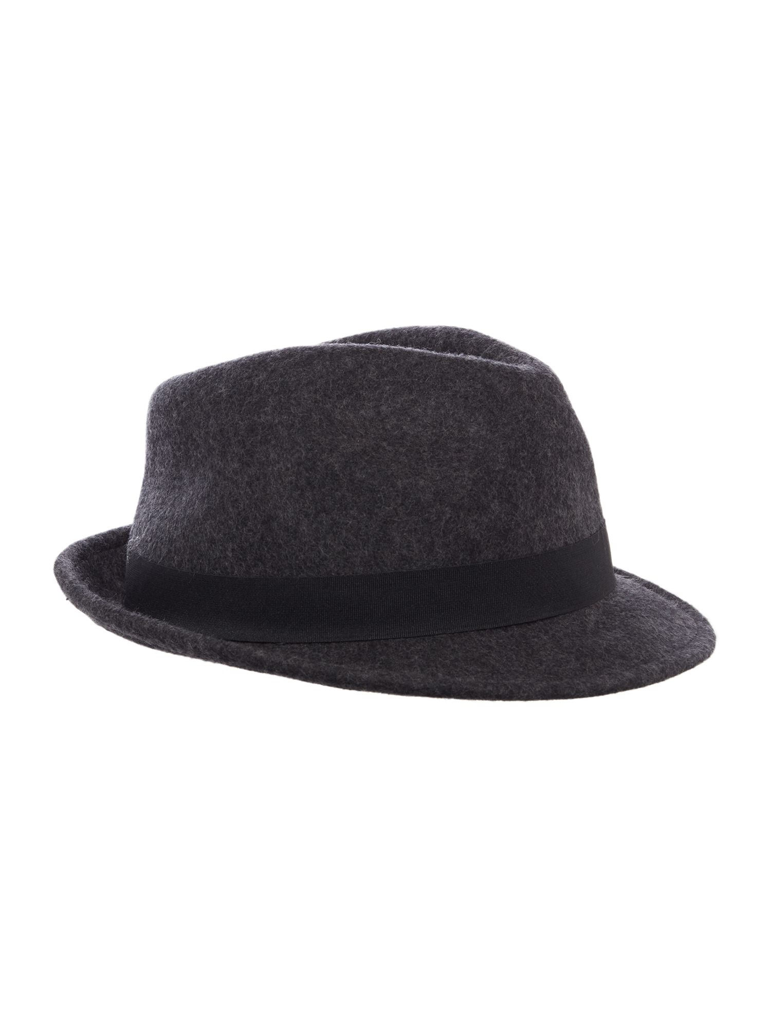 Howick Trilby Hat Charcoal
