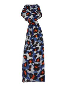 Lola Rose Camoflage leopard print scarf