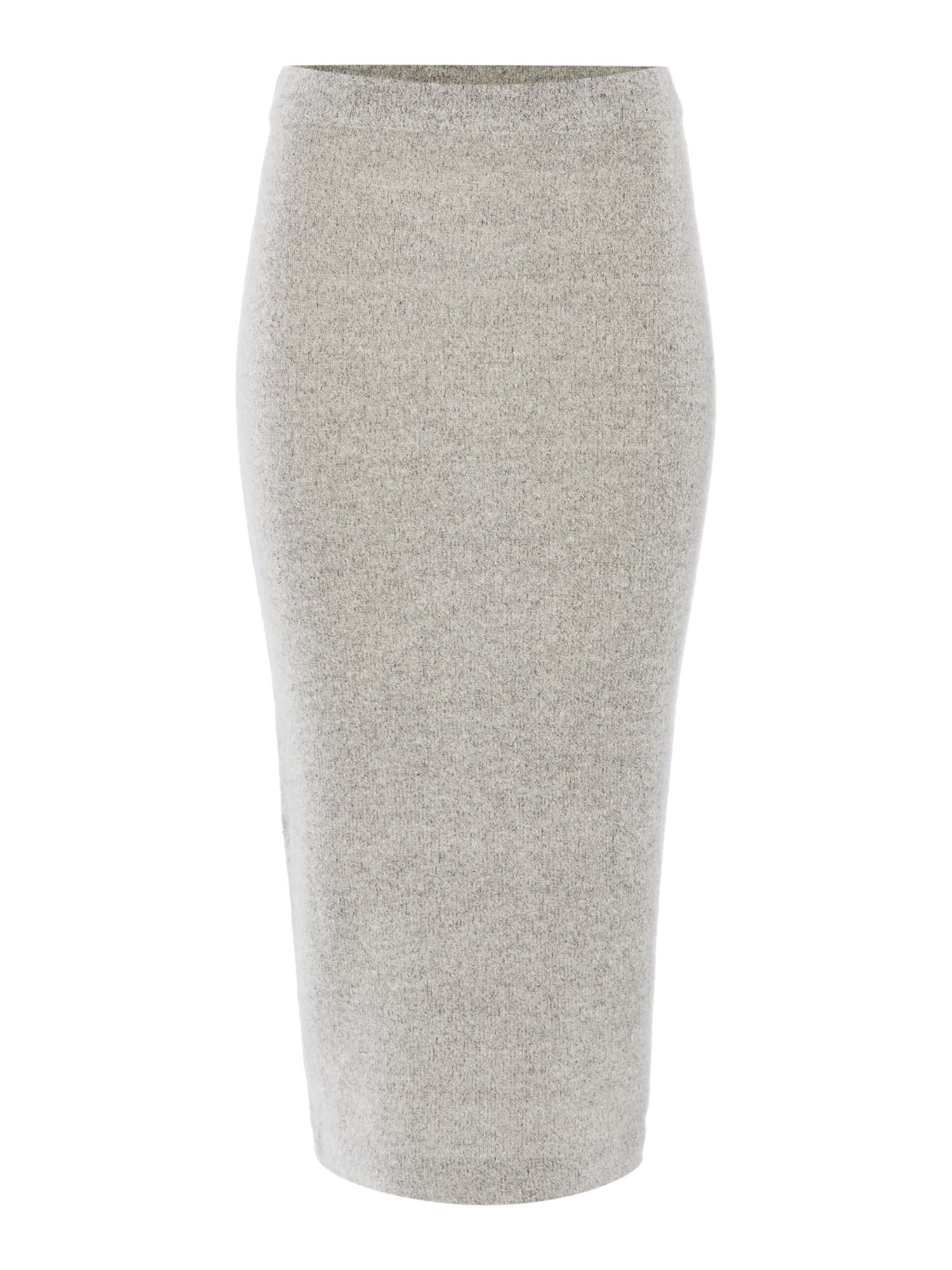 Gray & Willow Bodil Boucle Knit Skirt Cloud