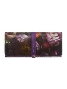 Ted Baker Shadow purple jewellery roll