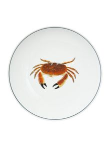 Jersey Pottery Seaflower Crab 23cm Side Plate