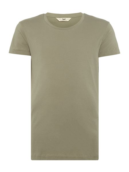 Lee Regular fit ultimate plain crew neck t shirt