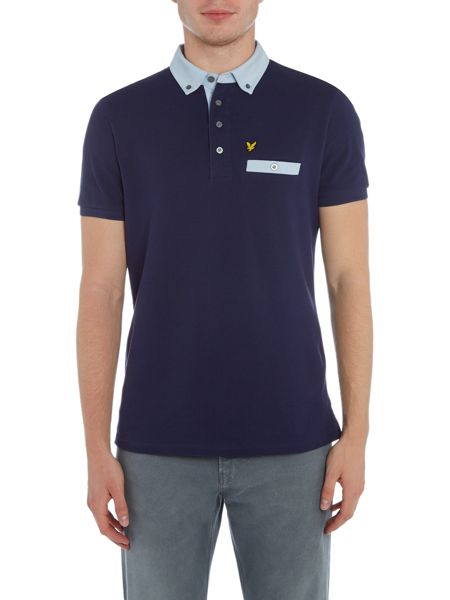 Lyle and Scott Plain Smart Hybrid Regular Fit Polo Shirt