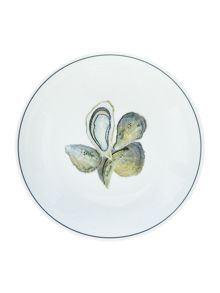 Jersey Pottery Seaflower Oyster 19cm Bowl