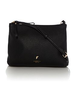 Daisy black small crossbody bag