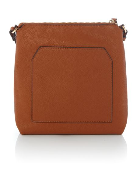 Fiorelli Logan tan small ziptop crossbody