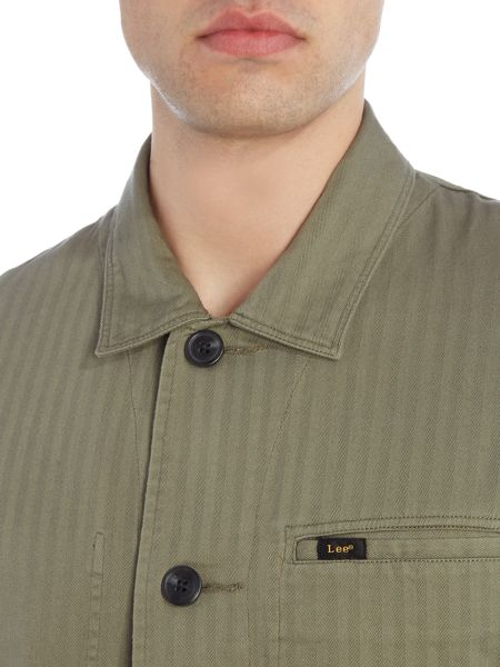 Lee 4 pocket collared overshirt