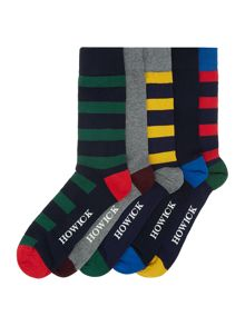 Howick 5 Pack Rugby Stripe