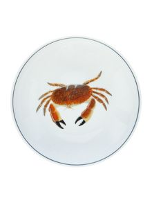 Jersey Pottery Seaflower Crab 19cm Bowl