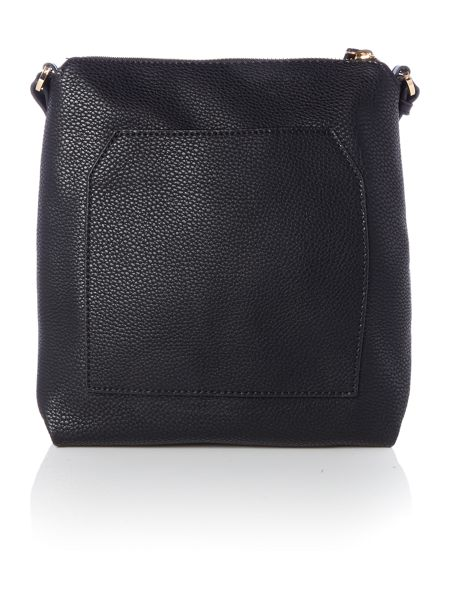 Fiorelli Logan black small ziptop crossbody