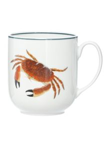 Jersey Pottery Seaflower Crab Mug