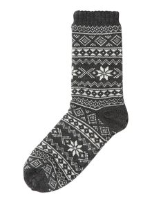 Howick Fairisle Slipper Sock