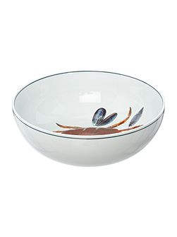 Seaflower Crab 23cm Serving Bowl