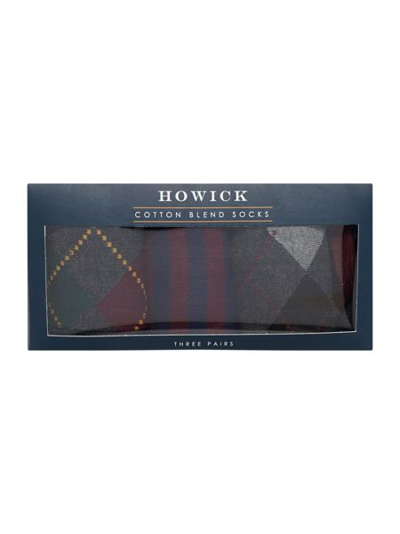 Howick 3 Pack Classic Argyle Box Set