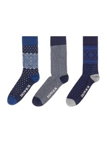 Howick 3 Pack Geo Fairisle Box Set