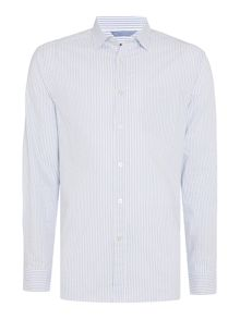 Howick Palmer Stripe Long Sleeve Shirt