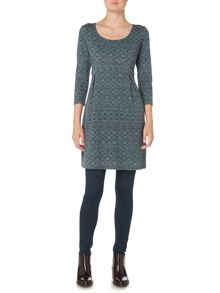 LILY & ME Laurie Printed Tunic Dress
