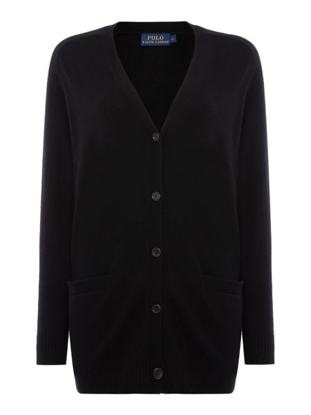 Polo Ralph Lauren V neck boyfriend cardigan