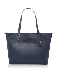 Fiorelli Dahlia exculsive navy large tote bag