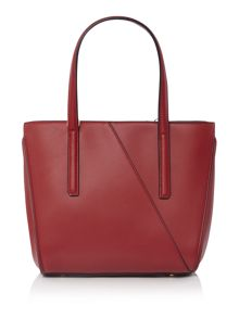 Fiorelli Sloane red small tote cross body bag