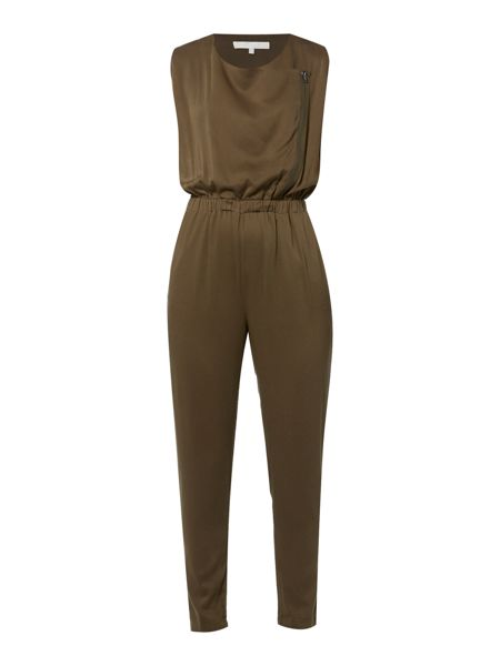 Gray & Willow Eskil zip front jumpsuit