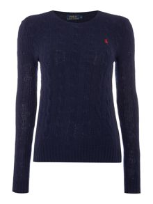 Polo Ralph Lauren Julianna cable wool crew neck jumper