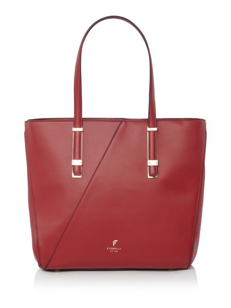 Fiorelli Sloane red large tote bag