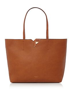 Tate tan large tote bag